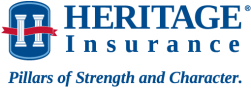 Blue Heritage Insurance Logo
